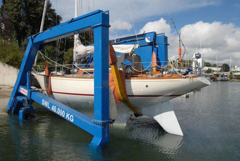 Rustler Yachts Boatyard