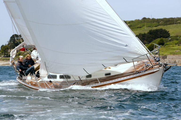 Rustler 36 sailing