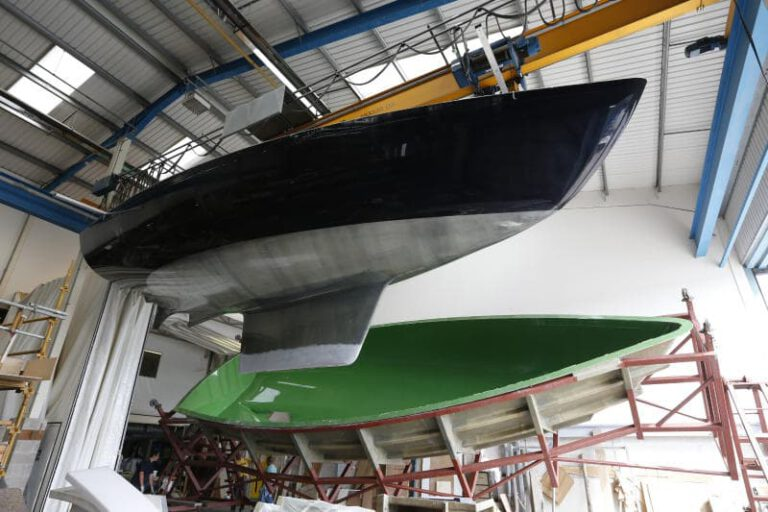 Rustler Yachts factory