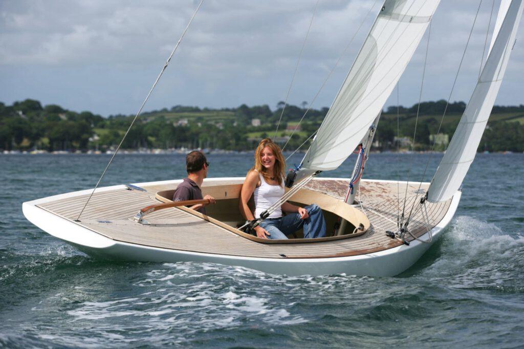 Rustler 24 sailing