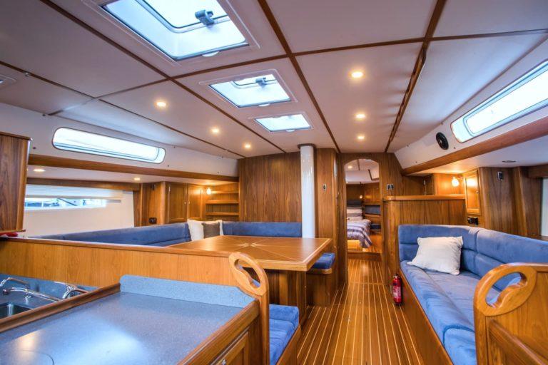 Rustler 57 - open interior